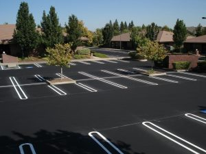 New Parking Lot Paving job completed in Virginia Beach, Virginia